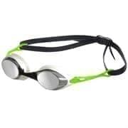 Arena COBRA MIRROR Очки для плавания Белый/Салатовый