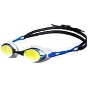 Arena COBRA MIRROR Очки для плавания Белый/Синий