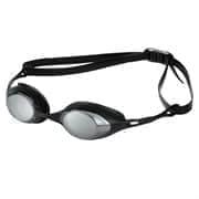 Arena COBRA MIRROR Очки для плавания Черный/Серебристый