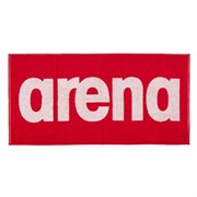 Arena GYM SOFT TOWEL Полотенце Красный/Белый