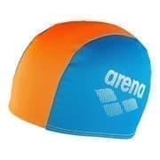 Arena POLYESTER II JR Шапочка для плавания детская Голубой/Оранжевый