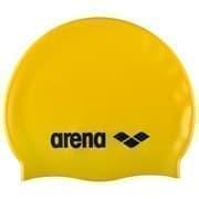Arena CLASSIC SILICONE JR Шапочка для плавания Желтый/Черный