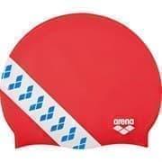 Arena TEAM STRIPE CAP Шапочка для плавания Красный/Белый/Синий
