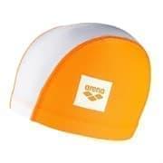 Arena UNIX II JR Шапочка для плавания детская Оранжевый/Белый