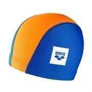 Arena UNIX II JR Шапочка для плавания детская Синий/Оранжевый