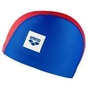 Arena UNIX II JR Шапочка для плавания детская Синий/Красный