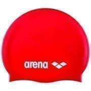 Arena CLASSIC SILICONE JR Шапочка для плавания Красный/Белый