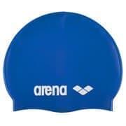 Arena CLASSIC SILICONE JR Шапочка для плавания Синий/Белый