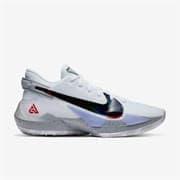 Nike ZOOM FREAK 2 Кроссовки баскетбольные Белый/Черный