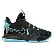 Nike LEBRON WITNESS V Кроссовки баскетбольные Черный/Голубой