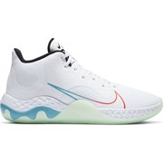 Nike RENEW ELEVATE Кроссовки баскетбольные Белый/Зеленый