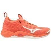 Mizuno WAVE MOMENTUM (W) Кроссовки волейбольные женские Розовый