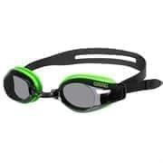 Arena ZOOM X-FIT Очки для плавания Черный/Зеленый/Дымчатый