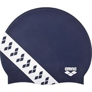 Arena TEAM STRIPE CAP Шапочка для плавания Темно-синий/Белый
