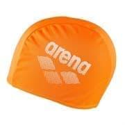 Arena POLYESTER II Шапочка для плавания Оранжевый/Белый