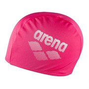 Arena POLYESTER II Шапочка для плавания Розовый/Белый
