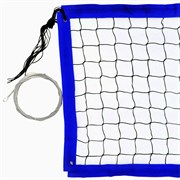 RUSBRAND FS-PV №18 Сетка для пляжного волейбола Черный/Синий