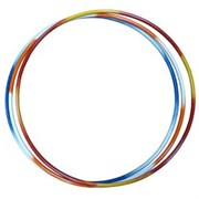 RUSBRAND MR-OSt1600 Обруч стальной 900мм утяжеленный 1,6кг Разноцветный