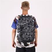 Nike ELITE PRO PRINTED BASKETBALL BACKPACK 34L Рюкзак Черный/Серый