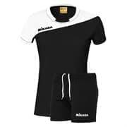 Mikasa MOACH Форма волейбольная женская Черный/Белый