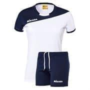 Mikasa MOACH Форма волейбольная женская Белый/Темно-синий