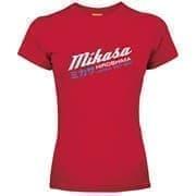 Mikasa TEJAL Футболка женская Красный/Белый