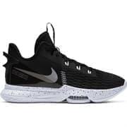 Nike LEBRON WITNESS V Кроссовки баскетбольные Черный/Белый