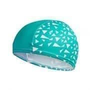 Speedo PRINTED PACE CAP JR Шапочка для плавания детская Зеленый/Белый
