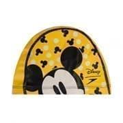 Speedo PRINTED PACE CAP JR Шапочка для плавания детская Желтый/Черный