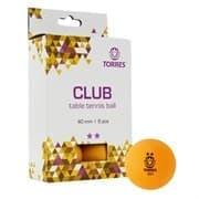 Torres CLUB 2* (TT21013) Мячи для настольного тенниса (6 шт)