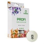Torres PROFI 3* (TT21012) Мячи для настольного тенниса (6 шт)
