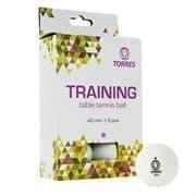 Torres TRAINING 1* (TT21016) Мячи для настольного тенниса (6 шт)