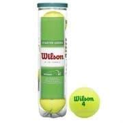 Wilson STARTER GREEN PLAY (WRT137400) Мячи для большого тенниса (4 шт)