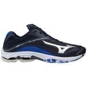 Mizuno WAVE LIGHTNING Z6 Кроссовки волейбольные Темно-синий/Серебристый/Фиолетовый