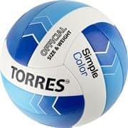 Torres SIMPLE COLOR (V32115) Мяч для пляжного волейбола