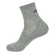 Jogel ESSENTIAL MID CUSHIONED SOCKS Носки высокие (2 пары) Серый/Черный
