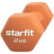 Starfit CORE DB-201 2 КГ Гантель неопреновая