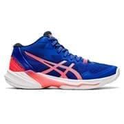 Asics SKY ELITE FF MT 2 (W) Кроссовки волейбольные женские Синий/Розовый