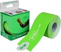 SFM 5 см Х 500 см Лейкопластырь кинезио тейп с логотипом зеленый