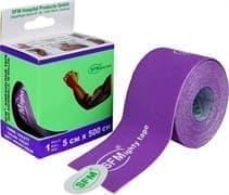 SFM 5 см Х 500 см Лейкопластырь кинезио тейп с логотипом фиолетовый