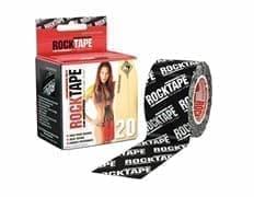 RockTape H2O 5смх5м черный Кинезиотейп Черный ЛОГОТИП