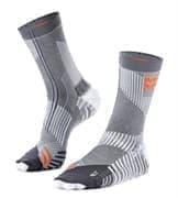 Moretan Multisport Носки беговые высокие Серый/Оранжевый