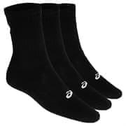 Asics 3PKK CREW SOCK Носки беговые высокие (3 пары) Черный/Белый