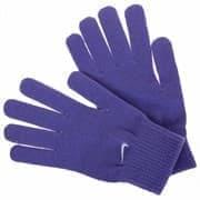 Nike KNITTED GRIP TECH GLOVES Перчатки беговые Фиолетовые/Белый