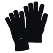 Nike KNITTED GLOVES L/XL Перчатки беговые Черный/Белый