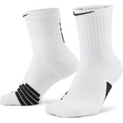 Nike ELITE MID Носки баскетбол Белый/Черный