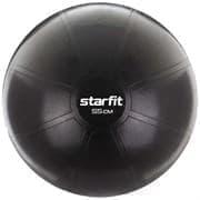 Starfit PRO GB-107, 55 СМ, 1100 Г Фитбол высокой плотности антивзрыв Черный