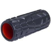 Starfit PRO FA-508 Ролик массажный высокая жесткость 33x13,5 cм Черный/Оранжевый