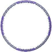 Starfit CORE HH-107 Обруч массажный разборный двухрядный Cерый/Фиолетовый