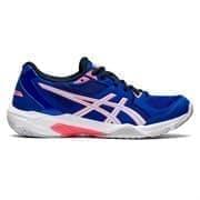 Asics GEL-ROCKET 10 (W) Кроссовки волейбольные женские Синий/Розовый